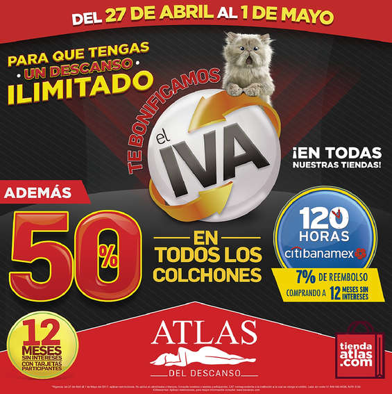 Ofertas de Atlas Del Descanso, Para que tengas un descanso ilimitado