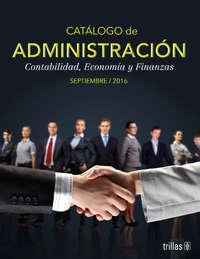 Catálogo Administración