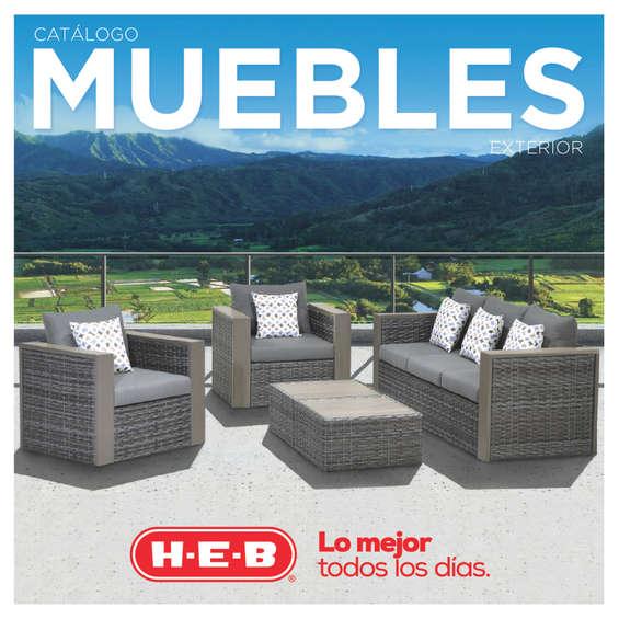 Ofertas de H-E-B, Catálogo Muebles Exterior