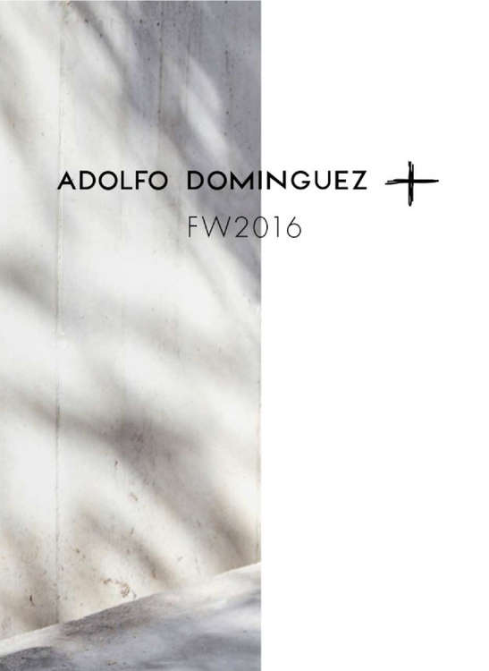 Ofertas de Adolfo Dominguez, Plus Fall Winter