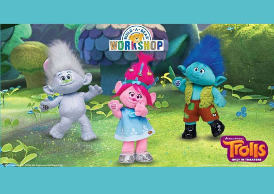 Ofertas de BUILD-A-BEAR, Trolls