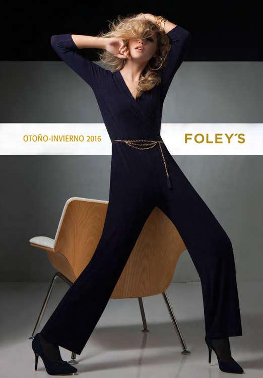 Ofertas de FOLEY'S, Otoño Invierno 2016