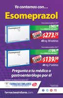 Ofertas de Farmacias Similares, Ya contamos con... Esomeprazol