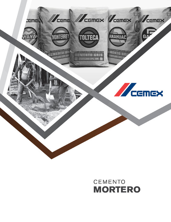 Ofertas de Cemex, Cemento Mortero