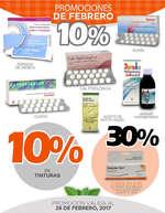 Ofertas de Farmacias Médicor, Promociones de febrero