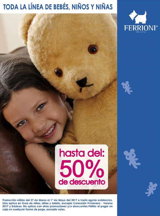 Ofertas de Ferrioni, Bebés, Niños y Niñas