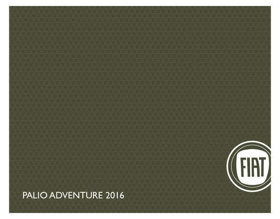 Ofertas de Fiat, Palio Adventure 2016