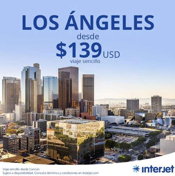 Ofertas de Interjet, Los Ángeles