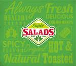 Ofertas de Super Salads, Menú