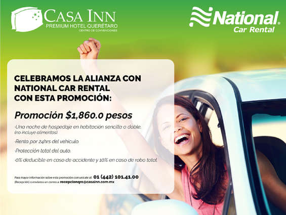Ofertas de National Car Rental, Visita Querétaro