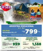 Ofertas de Excel Tours, Descubre Sudamérica