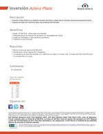 Ofertas de Banco Azteca, Ficha Técnica Inversión