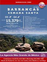 Ofertas de Excel Tours, Barrancas Semana Santa