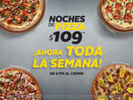Ofertas de California Pizza Kitchen, Noches de pizza