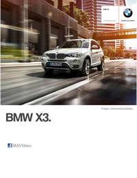 Ficha Técnica BMW X3 xDrive35iA M Sport Automático 2017