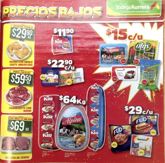 Ofertas de bodega aurrera gran pachang n revent n de for Lista de precios subway