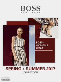 Boss Womenswear Spring Summer 2017