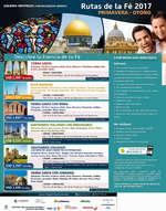 Ofertas de Viva Tours, Rutas de la fé 2017