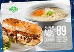 Ofertas de Super Salads, Promociones