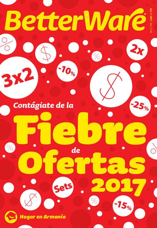 Ofertas de BETTERWARE, Fiebre Ofertas 2017