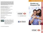 Ofertas de HSBC, Cuenta flexible con chequera TDC