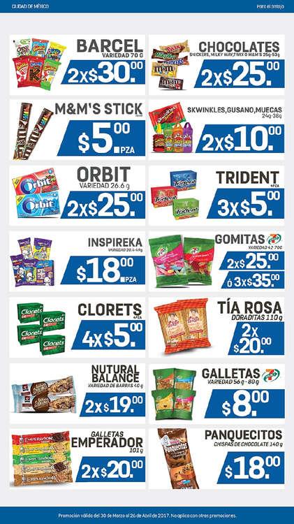 Ofertas de 7-Eleven, Abarrotes CDMX