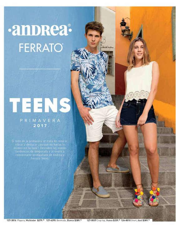 Ofertas de Andrea, Andrea Teens