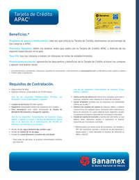 Tarjeta APAC