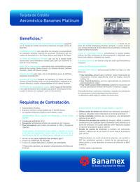 Aeroméxico Banamex Platinum