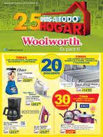 Ofertas de Woolworth, 25 días a todo hogar
