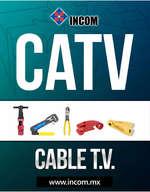 Ofertas de Incom, CATALOGO_INCOM_CATV