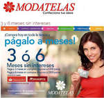 Ofertas de Modatelas, 3 y 6 MSI