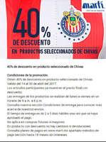 Ofertas de Marti, 40% de descuento