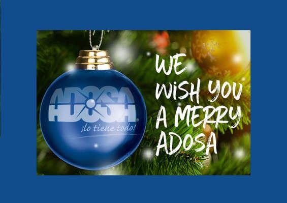 Ofertas de Adosa, We wish you a merry Adosa