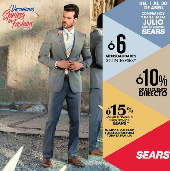 Ofertas de Sears, Spring in fashion