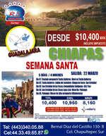 Ofertas de RS Viajes, Chiapas