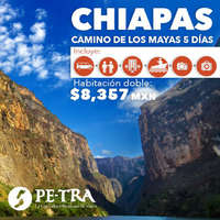 Camino de los mayas - Chiapas