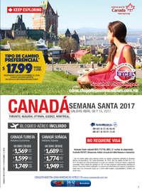 Canadá Semana Santa 2017