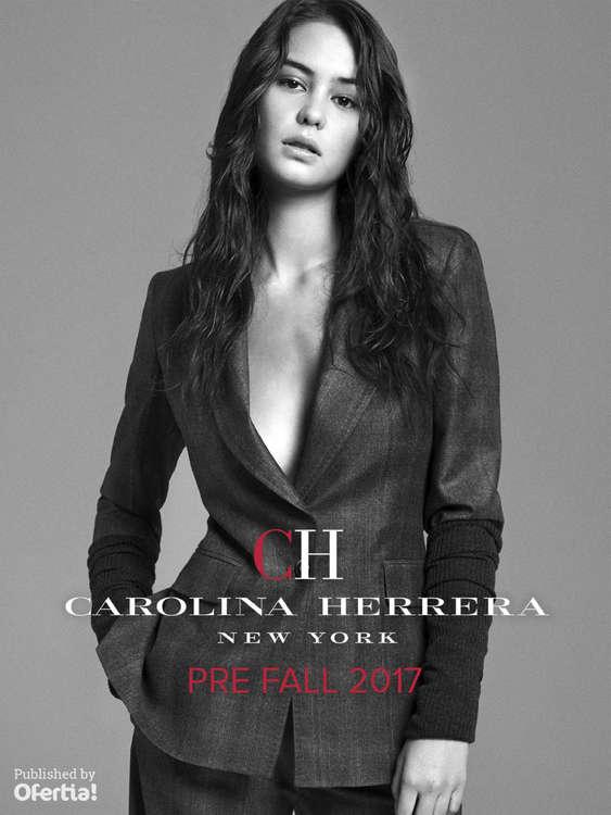 Ofertas de Carolina Herrera, Pre Fall 2017