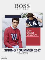 Ofertas de Hugo Boss, Boss Orange Menswear Spring Summer 2017