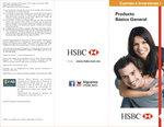 Ofertas de HSBC, Producto basico general