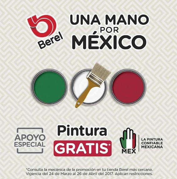 Ofertas de Berel, Una mano por México