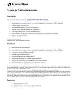 Ofertas de Banco Azteca, Tarjeta AcertumBank - Banco Azteca