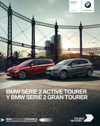 Serie 2 active tourer y gran tourer