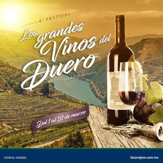 Ofertas de La Europea, Festival de vinos