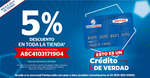 Ofertas de Famsa, 5% de descuento en toda la tienda