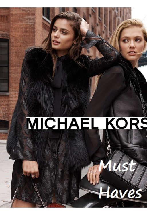 Ofertas de Michael Kors, Must Haves