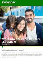 Ofertas de Europcar, 7 Días x 5!