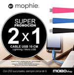 Ofertas de Mobo, 2x1 en cable USB