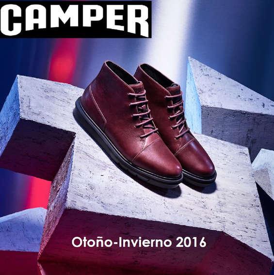 Ofertas de Camper, Otoño-Invierno 2016